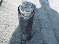 Torn lead boot